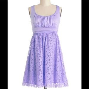 Lavender lace tea dress! NWOT